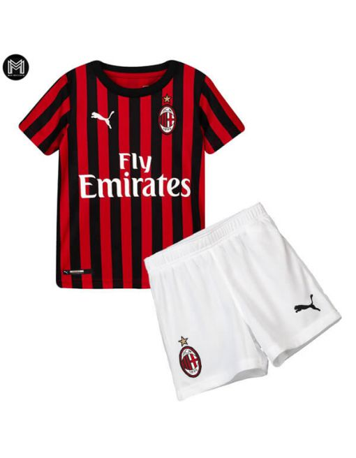 Ac Milan Domicile 2019/20 Kit Junior