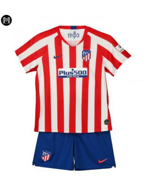 Atlético Madrid Domicile 2019/20 Kit Junior