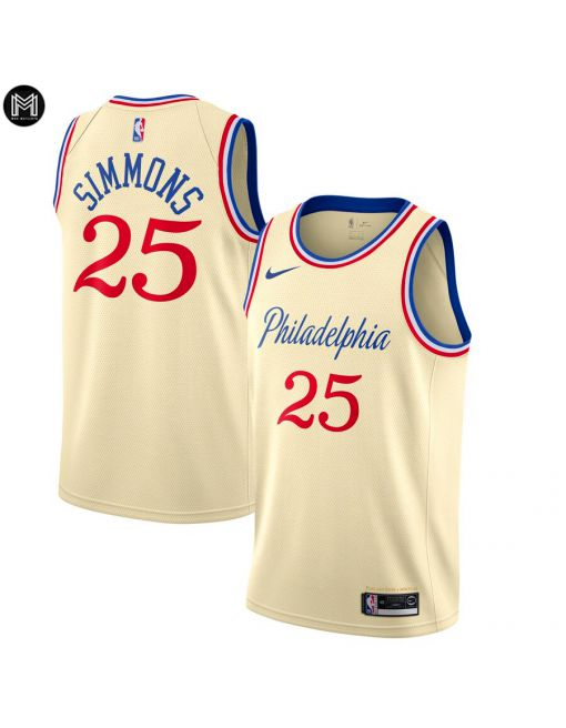 Ben Simmons Philadelphia 76ers 2019/20 - City Edition