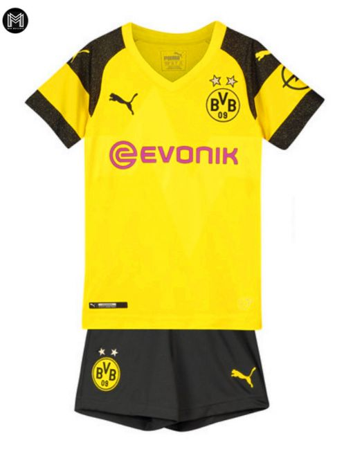 Borussia Dortmund Domicile 2018/19 Kit Junior
