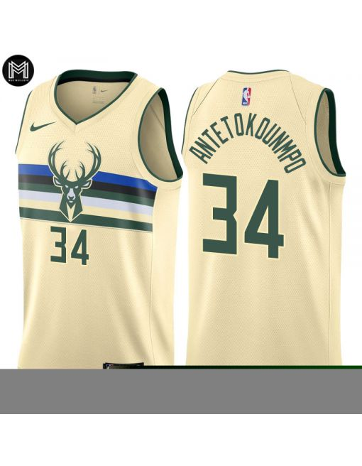 Giannis Antetokounmpo Milwaukee Bucks - City Edition