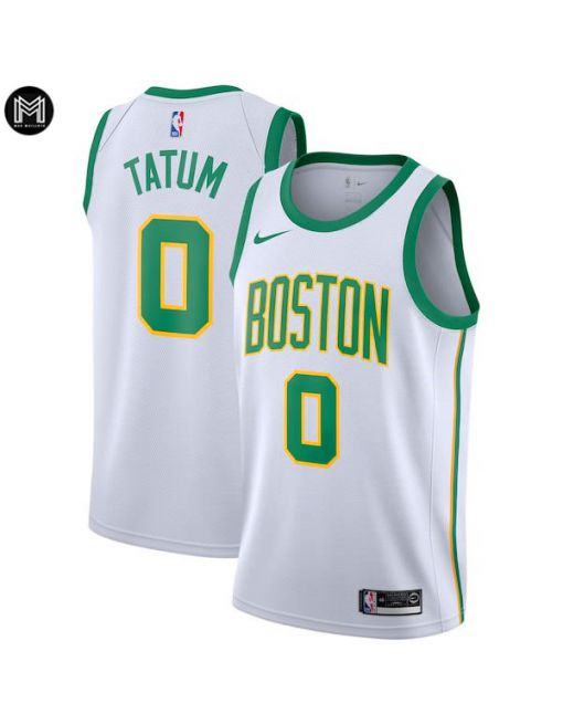 Jayson Tatum Boston Celtics 2018/19 - City Edition