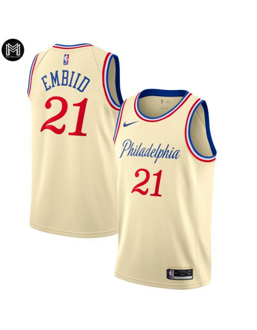 Joel Embiid Philadelphia 76ers 2019/20 - City Edition