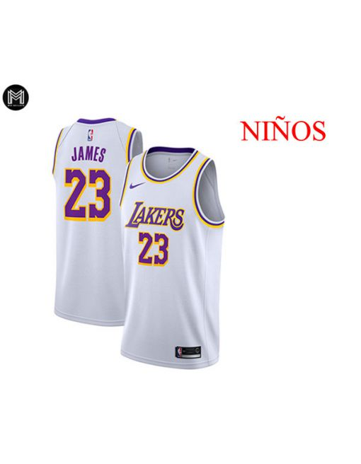 Lebron James La Lakers Association 2019 - NiÑos