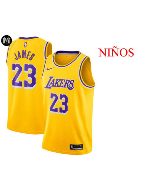 Lebron James La Lakers Icon 2019 -niÑos