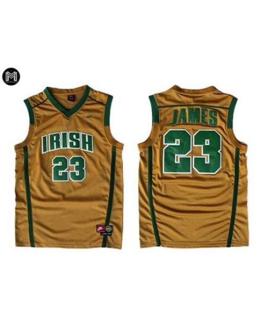 Lebron James St. Vincent St. Mary Irish [brown]