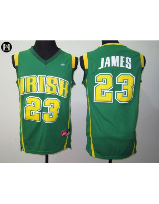 Lebron James St. Vincent St. Mary Irish [green]