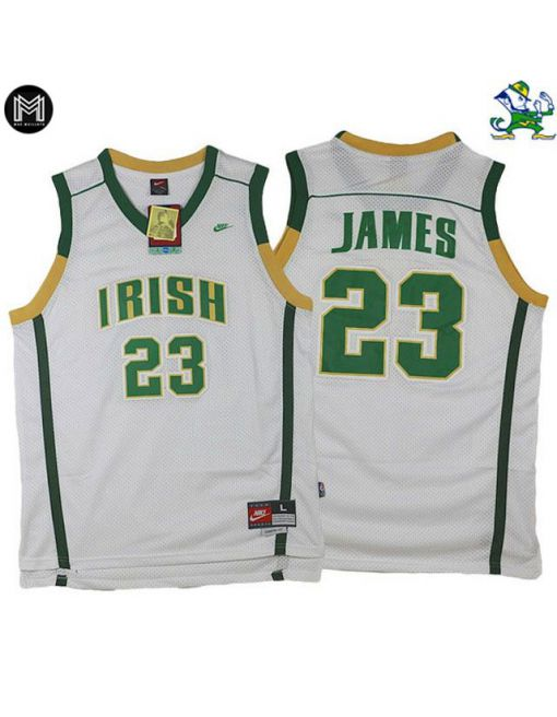 Lebron James St. Vincent St. Mary Irish [white]