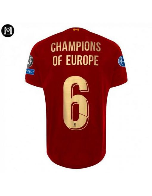 Liverpool Domicile 2019/20 - Champions Of Europe