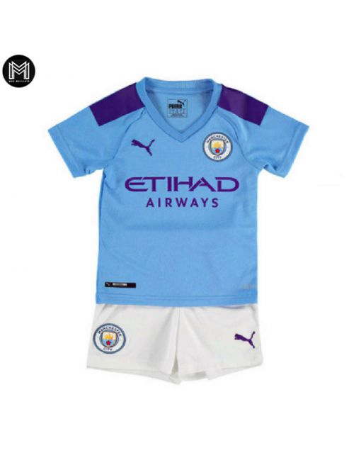 Manchester City Domicile 2019/20 Kit Junior