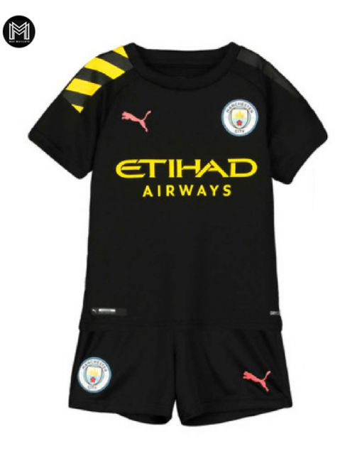 Manchester City Exterieur 2019/20 Kit Junior