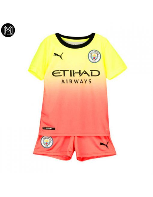Manchester City Third 2019/20 Kit Junior