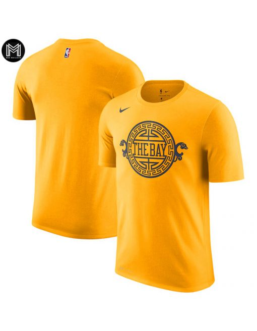 Noname Golden State Warriors - Sleeve Edition Amarillo