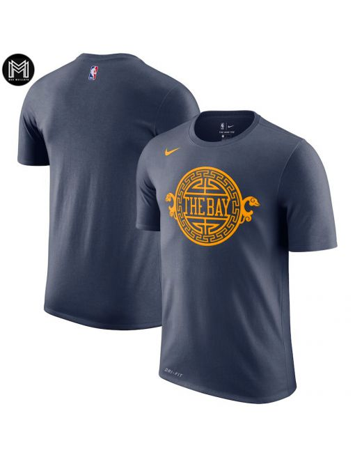 Noname Golden State Warriors - Sleeve Edition Negro
