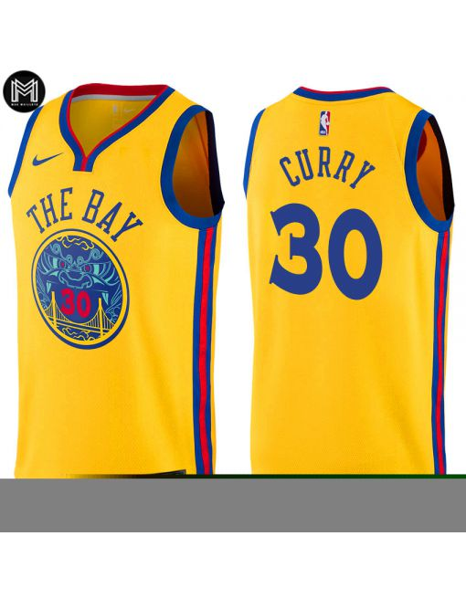 Stephen Curry Golden State Warriors - City Edition