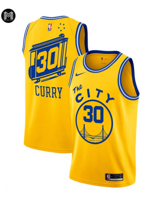 Stephen Curry Golden State Warriors 2019/20 - The City Classic Edition