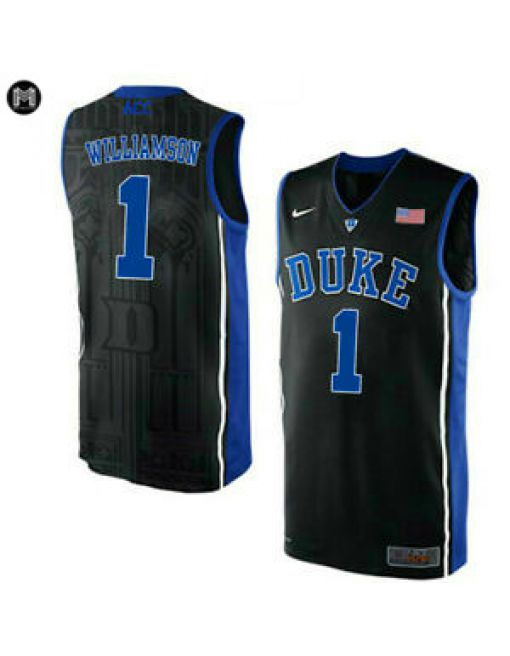 Zion Williamson Duke Blue Devils [black]