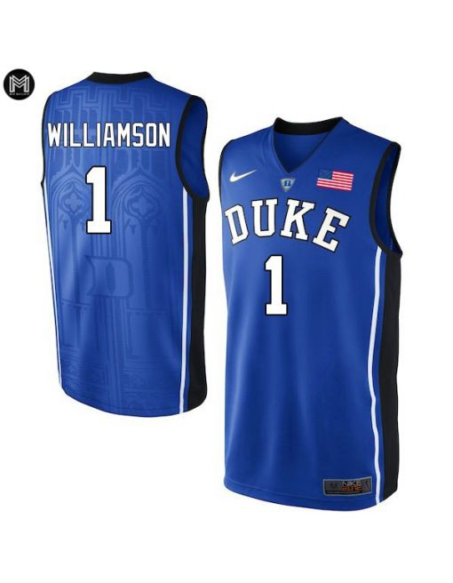 Zion Williamson Duke Blue Devils [blue]