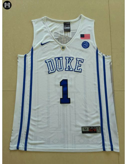 Zion Williamson Duke Blue Devils [white]