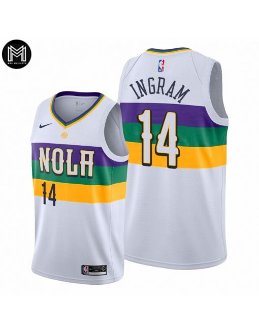 Brandon Ingram New Orleans Pelicans 2019/20 - City Edition