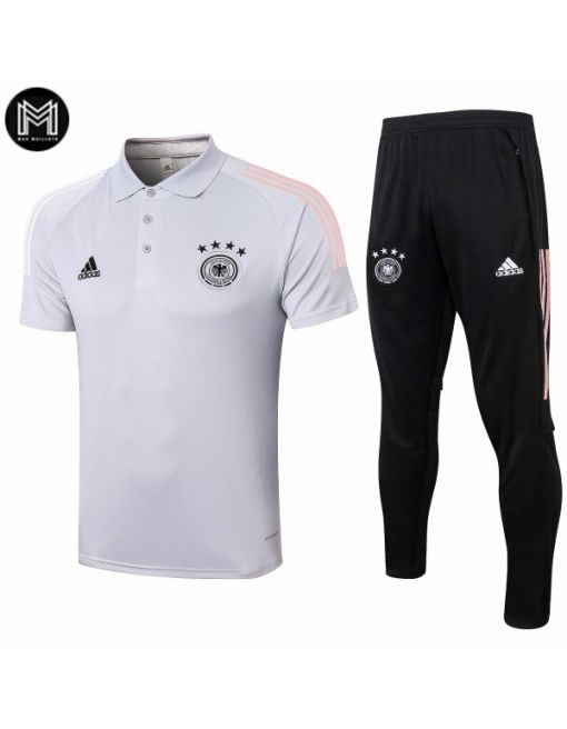 Polo Blanco Pantalones Allemagne 2020/21