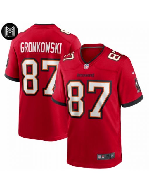 Rob Gronkowski Tampa Bay Buccaneers - Red