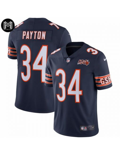 Walter Payton Chicago Bears - Navy