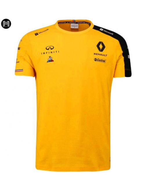 Maillot Renault Dp World 2020 - Amarilla