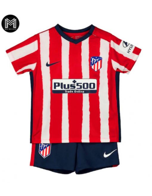 Atlético Madrid Domicile 2020/21 Kit Junior