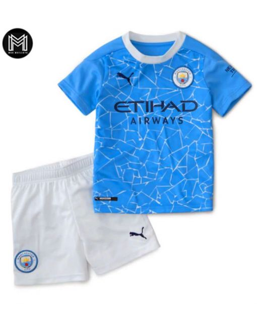 Manchester City Domicile 2020/21 Kit Junior