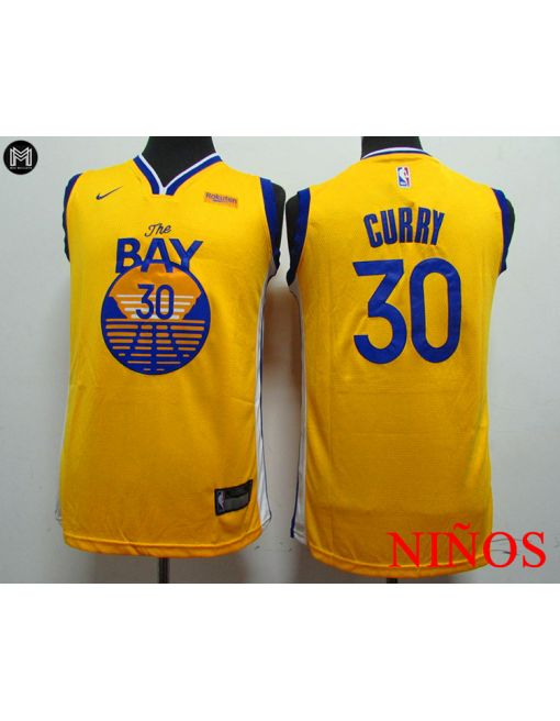 Stephen Curry Golden State Warriors [bay] -niÑos