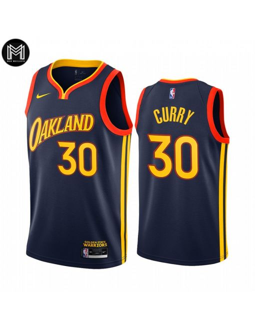 Stephen Curry Golden State Warriors 2020/21 - City Edition