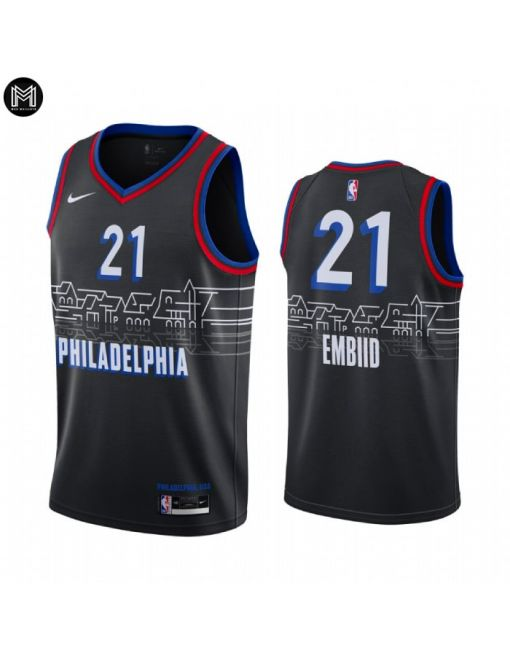 Joel Embiid Philadelphia 76ers 2020/21 - City Edition